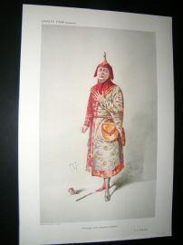 Vanity Fair Print 1910 Charles H. Workman, Theatre